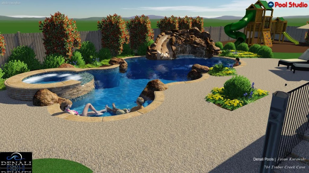 Custom swimming pool builder austin tx denali pools for Pool design austin